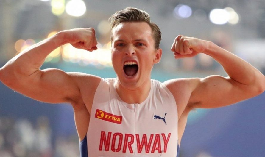 Warholm chasing the world best in the Impossible Games