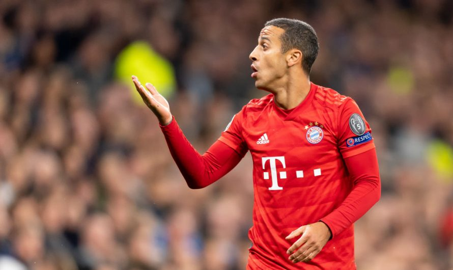 Thiago Alcantara set for FC Bayern exit
