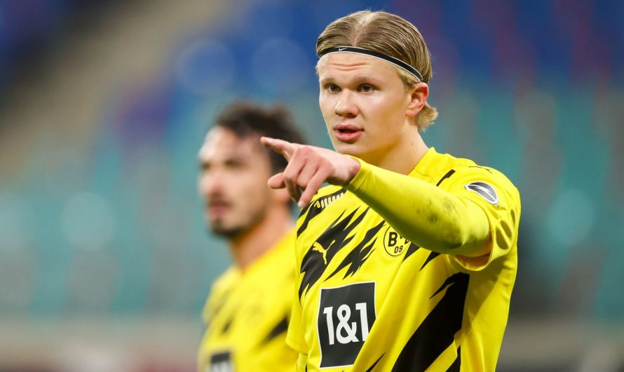 Borussia Dortmund not willing to consider Erling Haaland sale in 2021