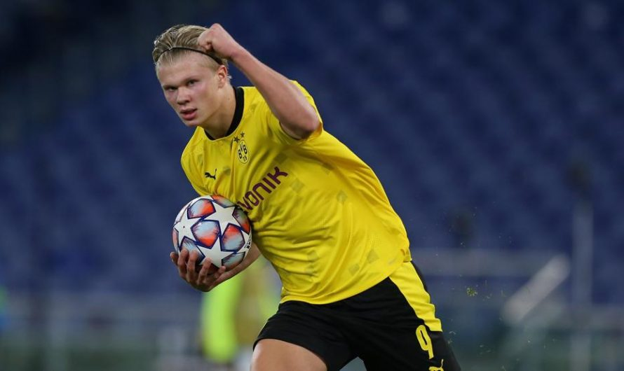 FC Barcelona ruled out of Erling Haaland race