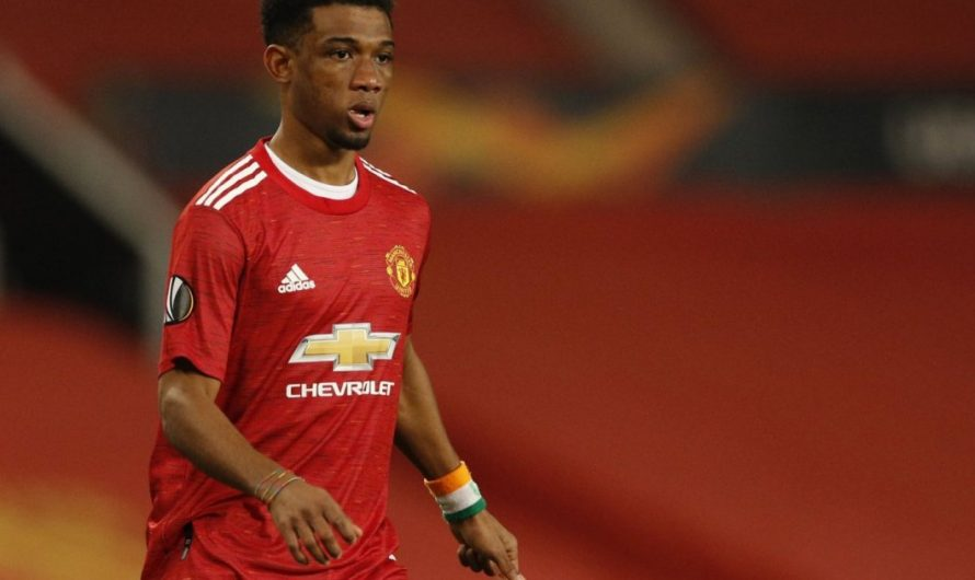 Manchester United starlet Amad Diallo offered loan advice by national coach
